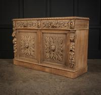 Bleached Oak Side Cabinet c.1880 (14 of 20)