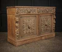 Bleached Oak Side Cabinet c.1880 (10 of 20)