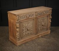 Bleached Oak Side Cabinet c.1880 (9 of 20)
