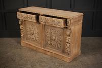 Bleached Oak Side Cabinet c.1880 (17 of 20)
