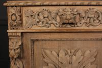 Bleached Oak Side Cabinet c.1880 (7 of 20)