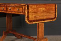 Regency Satinwood Sofa Table (10 of 16)