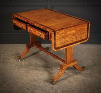 Regency Satinwood Sofa Table (11 of 16)