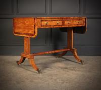 Regency Satinwood Sofa Table (2 of 16)