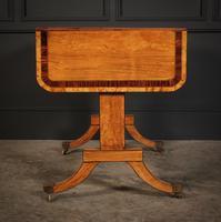 Regency Satinwood Sofa Table (14 of 16)