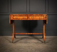Regency Satinwood Sofa Table (6 of 16)