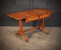 Regency Satinwood Sofa Table (3 of 16)
