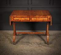 Regency Satinwood Sofa Table (7 of 16)