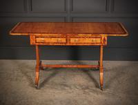Regency Satinwood Sofa Table (4 of 16)