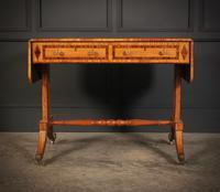 Regency Satinwood Sofa Table (15 of 16)