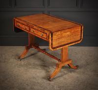 Regency Satinwood Sofa Table (8 of 16)