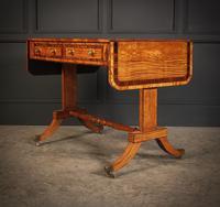 Regency Satinwood Sofa Table (9 of 16)