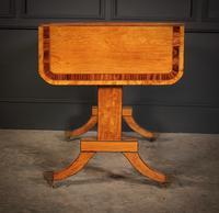Regency Satinwood Sofa Table (16 of 16)