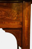 Mahogany & Marquetry Cabinet on Stand c.1900 (5 of 6)