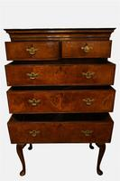 George II Walnut Veneered Chest on Stand (2 of 6)
