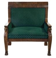 Large French Armchair c.1880 (2 of 9)