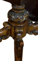Exceptional Burr Walnut Loo Table c.1860 (5 of 8)