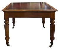 Mahogany Partners Writing Table / Desk (4 of 10)
