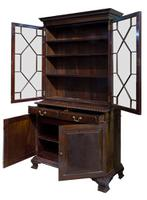 Mahogany Bookcase by Holland & Sons c.1890 (2 of 9)