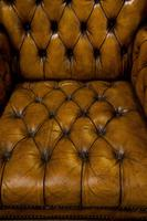 18th Century Style Leather Wing Chair c.1900 (4 of 6)