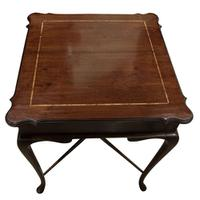 Inlaid Mahogany Occasional Table c.1910 (3 of 6)