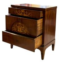 Danish Marquetry Inlaid Bedemeier Dressing Chest (2 of 7)