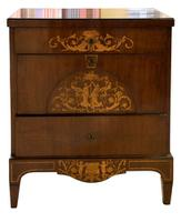 Danish Marquetry Inlaid Bedemeier Dressing Chest (3 of 7)