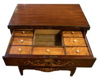 Danish Marquetry Inlaid Bedemeier Dressing Chest (5 of 7)