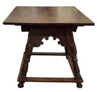 Swiss Cherrywood Marriage Table Dated 1804 (2 of 6)