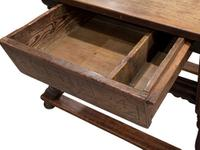 Swiss Cherrywood Marriage Table Dated 1804 (4 of 6)