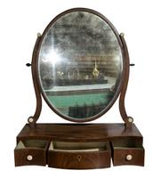 18th Century Serpentine Fronted Dressing Table Mirror c.1770 (3 of 3)