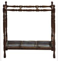 19th Century Oak Stick Stand in Arts & Crafts Style c.1880 (2 of 5)
