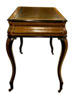 French Amboyna & Ebony Writing Table (4 of 7)