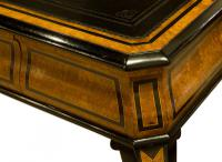 French Amboyna & Ebony Writing Table (6 of 7)