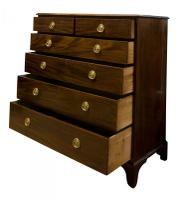 19th C Mahogany Chest of Drawers (2 of 7)