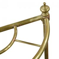 Brass Demi-Lune Umbrella Stand (5 of 5)