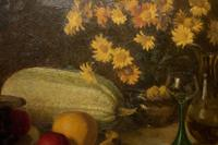 Oil Painting On Canvas of Still Life C.1900 (11 of 11)