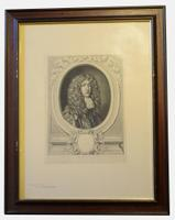 Pair of Large Prints of 17th Century Lady & Gentleman (2 of 5)
