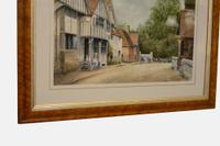 19th Century Watercolour of 'The Olde Tigers Head' (2 of 3)