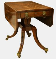 Pedestal Pembroke Table c.1810