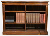 Late Regency Open Bookcase c.1820