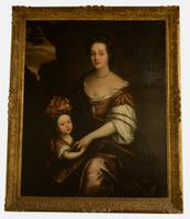 16th Century Portrait of Mother & Child