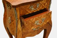 Pair of French Parquetry Bomb Chests c.1920 (3 of 5)