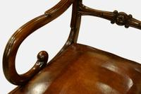Pair of Regency Period Mahogany Carver Chairs (4 of 5)