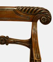 Pair of Regency Period Mahogany Carver Chairs (5 of 5)
