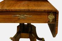 Regency Rosewood Drop-Leaf Supper Table (5 of 10)