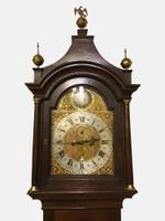North Country Brass Dial Oak Longcase Clock c.1765 (2 of 6)