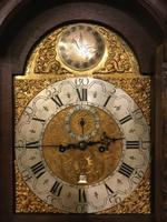 North Country Brass Dial Oak Longcase Clock c.1765 (3 of 6)