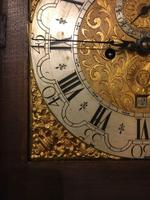 North Country Brass Dial Oak Longcase Clock c.1765 (4 of 6)