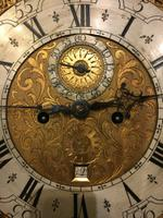 North Country Brass Dial Oak Longcase Clock c.1765 (5 of 6)